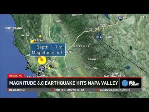 After The Earthquake - Napa California