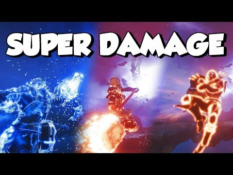 All 9 NEW Supers Damage Comparison! [Destiny 2 Forsaken]