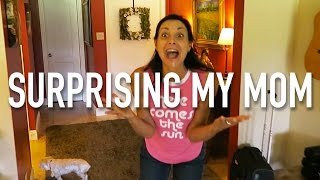 SURPRISING MY MOM FOR HER BIRTHDAY