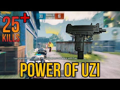 Power of UZI | Actually the real power of UZI | TDM Gameplay | Dead Zone Army | Pubg Mobile