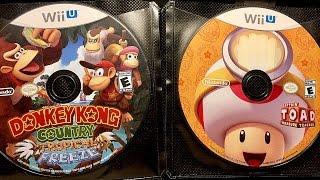 Wii U Game Collection ASMR