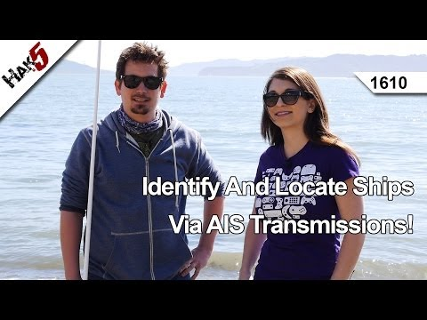 Identify And Locate Ships Via AIS Transmissions!, Hak5 1610