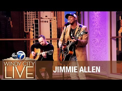 """Rising Country Star Jimmie Allen 