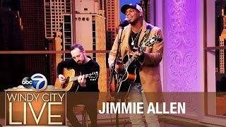 "Rising Country Star Jimmie Allen | ""Make Me Want To"" Video"