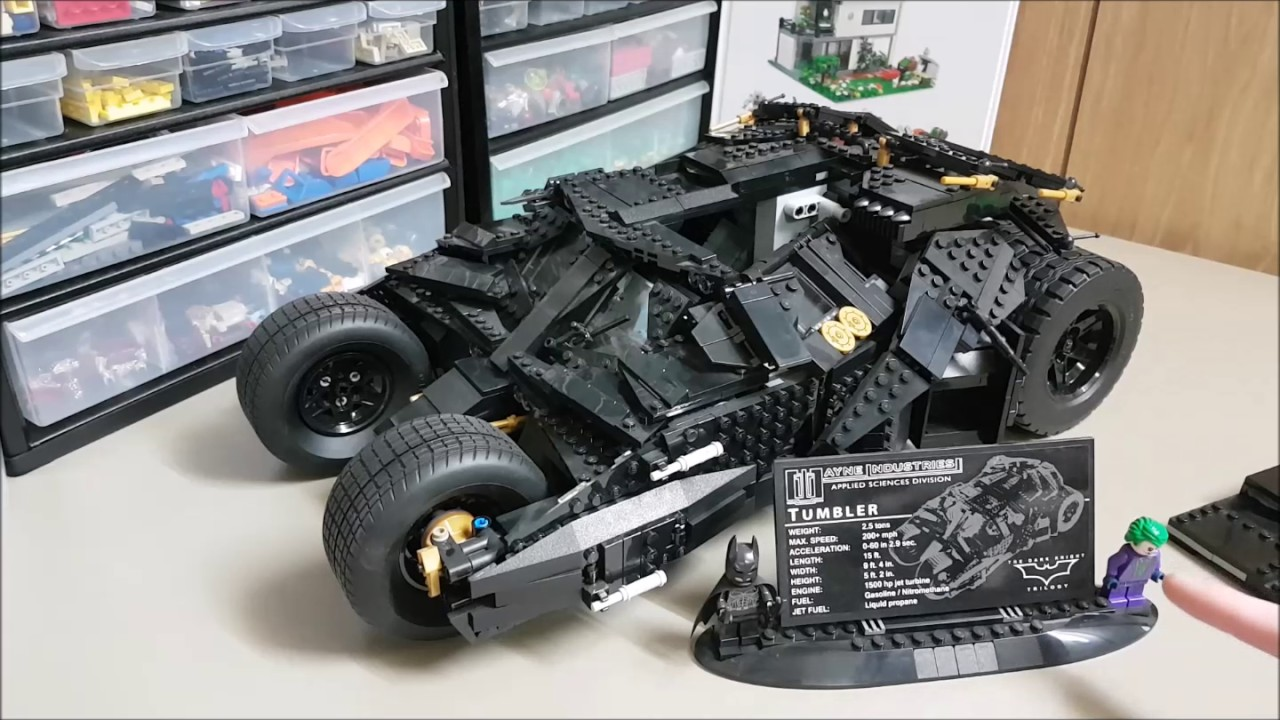 lego batman tumbler set 76023 review youtube. Black Bedroom Furniture Sets. Home Design Ideas