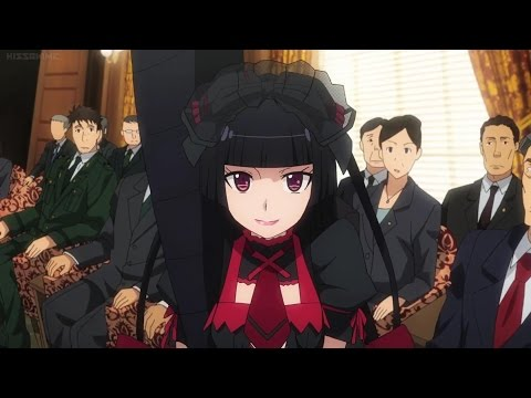 Gate: Rory Mercury amazing speech Episode 8