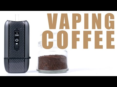 You Can Vape What?! - Vaping Coffee with your Ascent Vaporizer