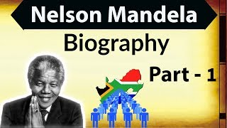 Nelson Mandela Biography in Hindi Part 1 - Know about the life of Great South African President
