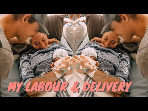 Labour & Delivery Of Our First Baby | Our Birth Story!!