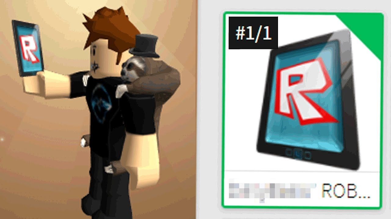 Youtube How To Get Free Robux Tablet There Is Only 1 Of This Roblox Tablet I Got It Youtube