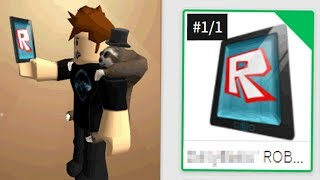 THERE IS ONLY 1 OF THIS ROBLOX TABLET *I GOT IT*