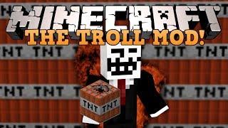 Minecraft: ТРОЛЛИНГ?! (Ловушки, ФейкTNT и тд) [Обзор модов]