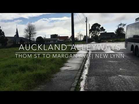 Auckland Alleyways | Thom St to Margan Ave | New Lynn