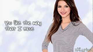 Victoria Justice - Shut Up And Dance (Lyrics)