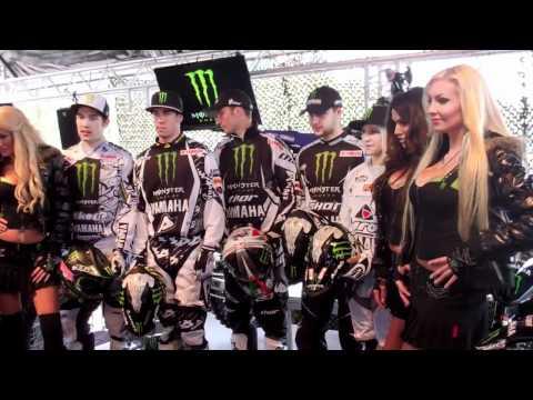 Monster Energy Yamaha Team Presentation 2012