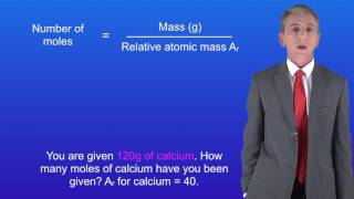 GCSE Chemistry (9-1) Calculating moles of an Element