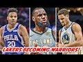 MARKELLE FULTZ & BEN SIMMONS TRAINING UPDATE! KEVIN DURANT & KLAY THOMPSON JOINING LEBRON | NBA News