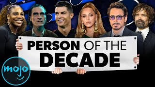 Bracket: Person of the DECADE!