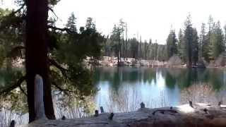 Mt Lassen Manzanita Lake - California National Park