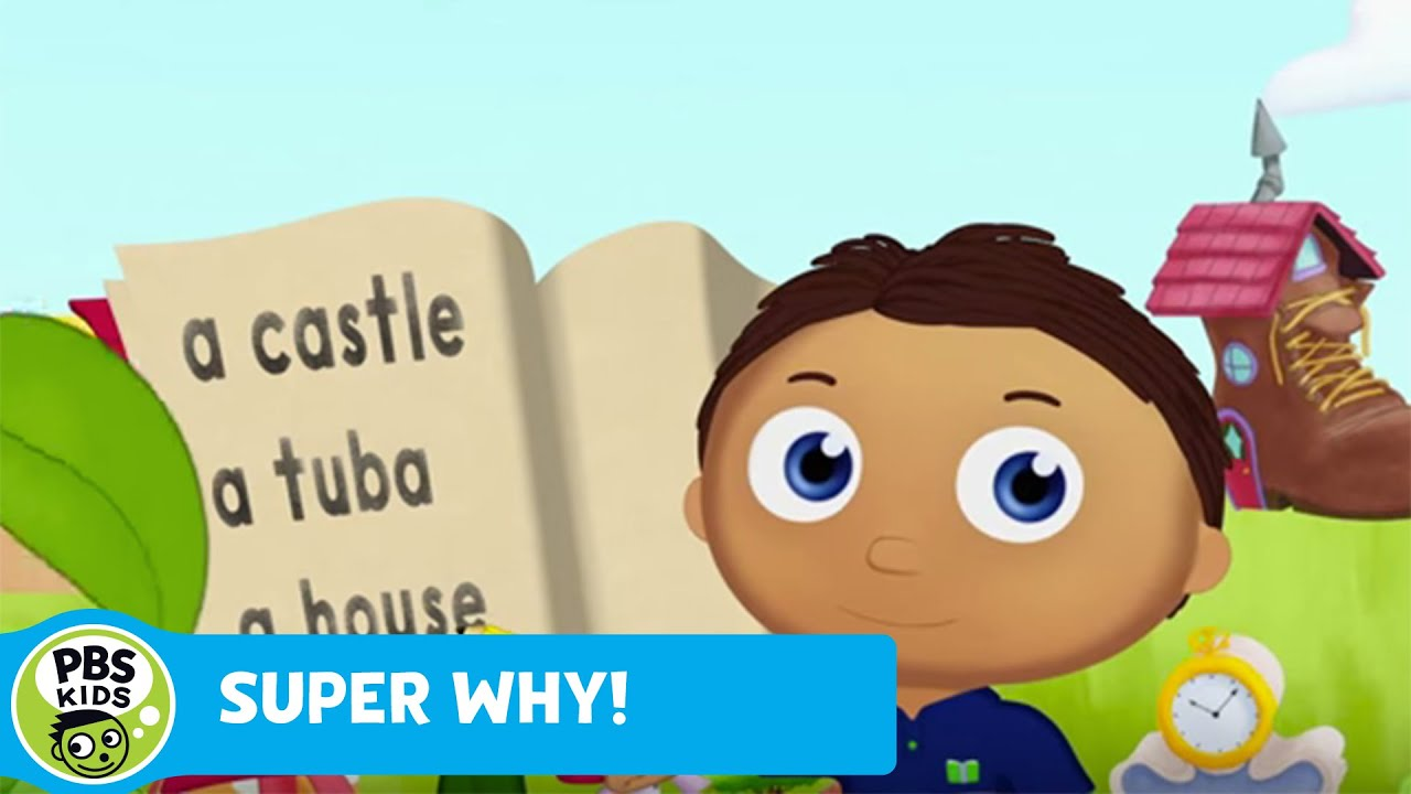 Whyatt Becomes Super Why Pbs Kids Youtube