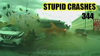 Stupid driving mistakes 344 (April 2019 English subtitles)