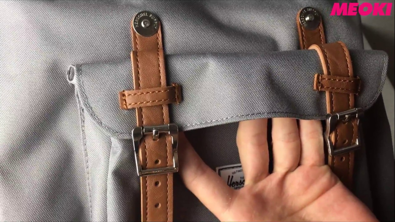 60ae18ed854 Herschel Little America Backpack Grey Tan (Unboxing) - YouTube