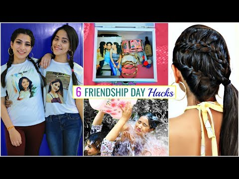 6 FRIENDSHIP Day HACKS You Must Try ... | #GiftIdeas  #Fun #Anaysa