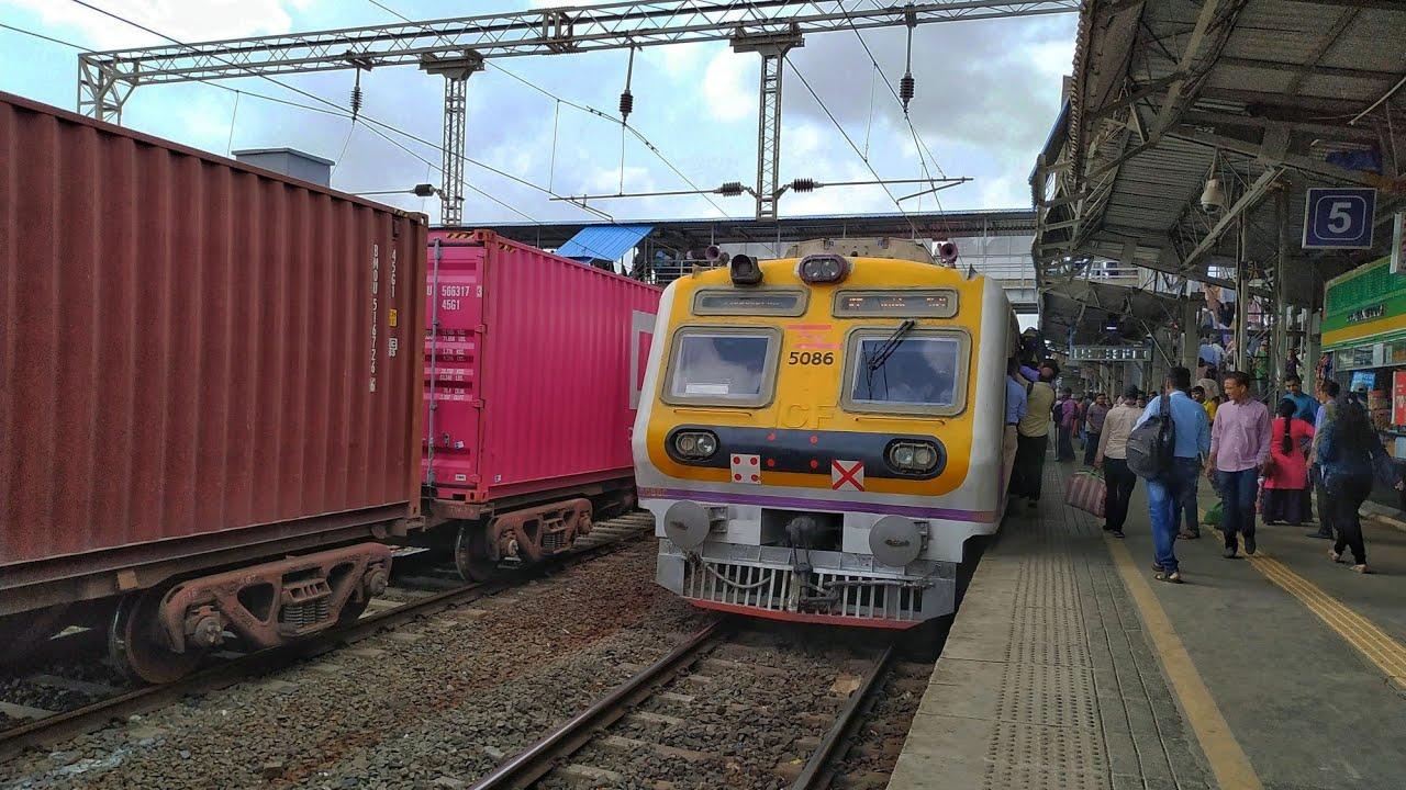 Travelling Towards Kasara Mumbai Trains.