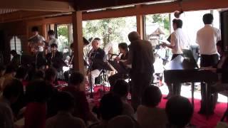 6月10日に太宰府の戒壇院で行われた菩提樹コンサートの中から、菅野...