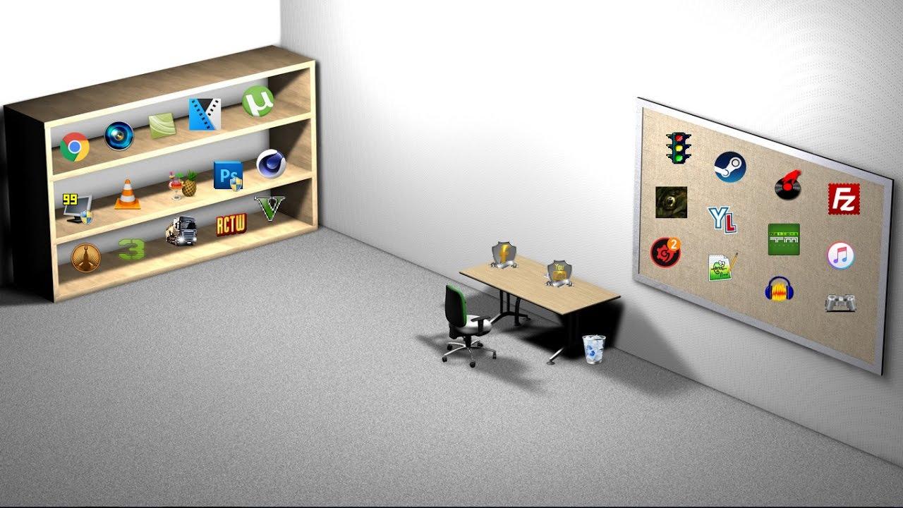 tuto comment personnaliser son bureau youtube. Black Bedroom Furniture Sets. Home Design Ideas