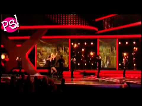 Britney Spears vs. Girls Aloud - Womanizer (live)