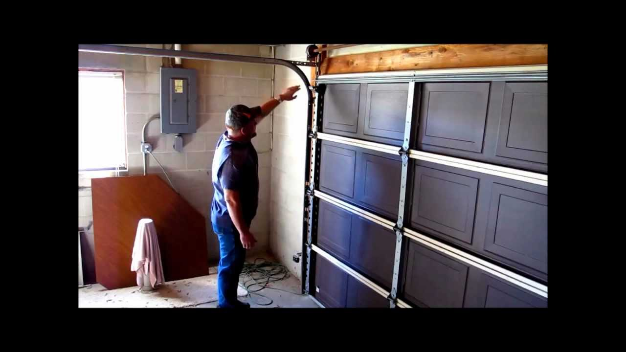 How To Do Preventative Maintenance On Your Garage Door Part 3 W Anthony Edwards