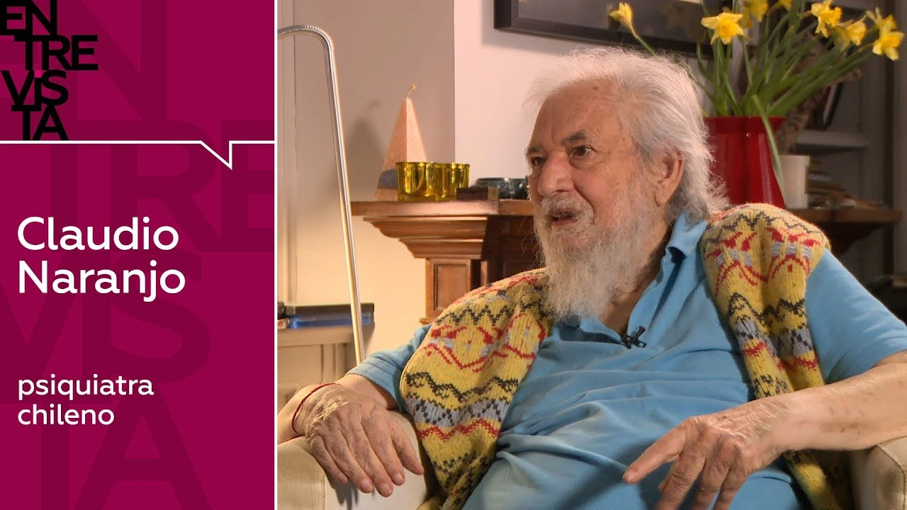 """Claudio Naranjo: """"La sed de amor es una de las grandes causas del sufrimiento en el mundo"""""""