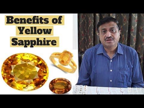 Benefits of Yellow Sapphire