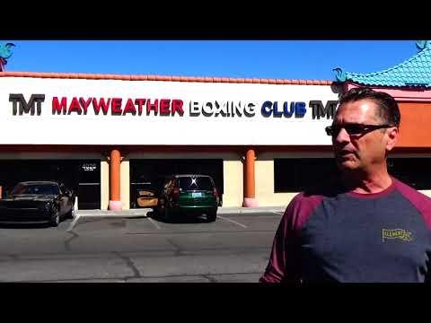 Mayweathers Gym Las Vegas Nevada