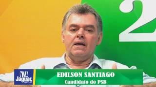 Eleições 2016: Edílson Santiago Entrevista completa com o candidato a prefeito de Limoeiro.