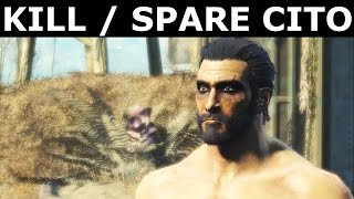 "Fallout 4 Nuka World - Deal With Cito (All Options) - ""Safari Adventure"" Quest"