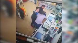 """Tiger"" with an ax attacked the shop"