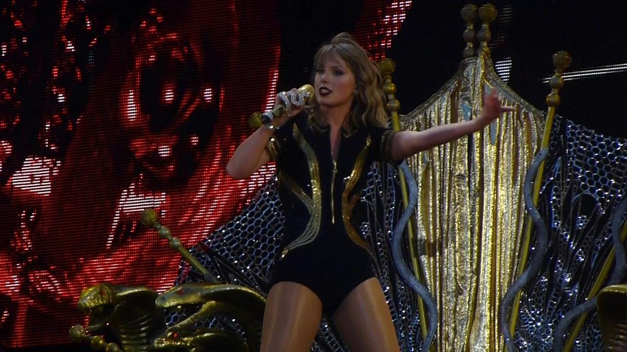 Taylor Swift King Of My Heart Live Wembley Stadium Reputation Stadium Tour Youtube