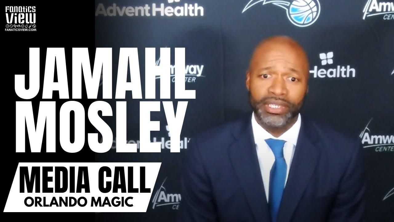 Orlando Magic Introduce Jamahl Mosley as Head Coach of Orlando Magic | Full Press Conference