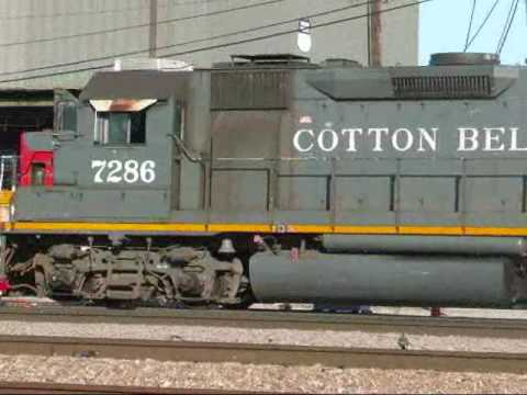 UNPATCHED SSW Cotton Belt GP60 Works Davidson Yard