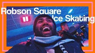 Ice Skating on Robson Square | VLOG Day 62