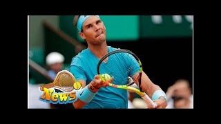 French open - tuesday schedule: nadal gets back on court after rain delay