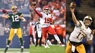 Whose Arm is Strongest? Patrick Mahomes | Aaron Rodgers | Josh Allen