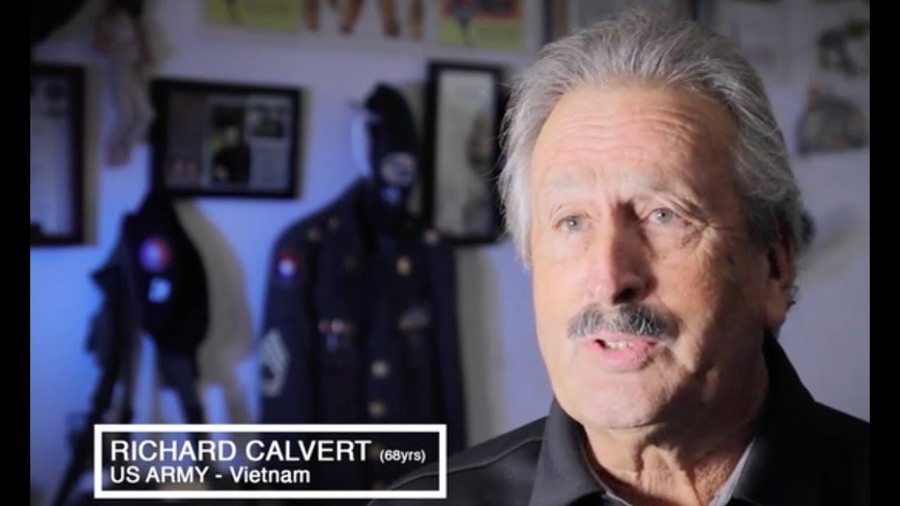 Richard Calvert, Green Beret?