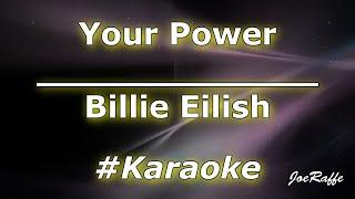 Billie Eilish - Your Power (Karaoke)