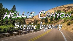 Hell's Canyon Scenic Byway and Enterprise Oregon City Hall - Wallowa-Whitman National Forest