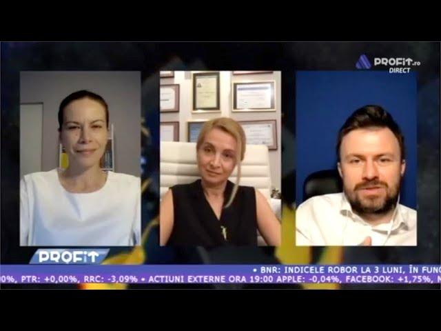 Nadia Gorduza la PROFIT LIVE despre e-health si efectele psihologice ale pandemiei