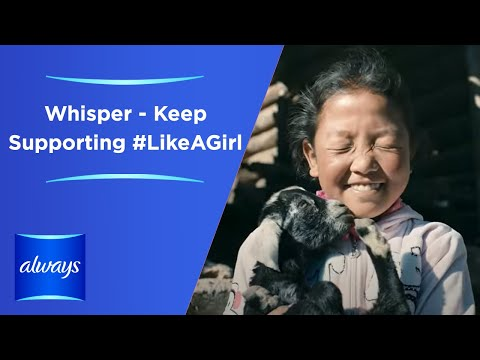 Whisper - Keep Supporting #LikeAGirl