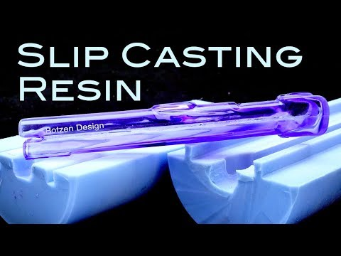 How to Slip Cast Urethane resin parts: simulated Blow Molding